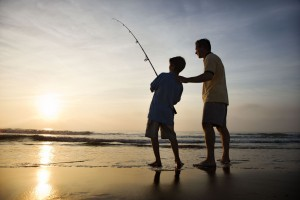 A father and son benefitting from our family law services near Chadstone and Ashburton